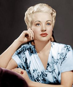 Betty Grable 1916-1973 (Age 56) Died from Lung Cancer