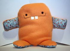 Cute Monster Toy. via Etsy.
