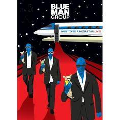 HOW TO BE A MEGASTAR - Live BLUE MAN GROUP por R$59,90