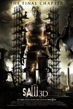 Saw 3D: The Final Chapter. A good blood and gore movie.