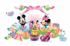 Mickey And Minnie Easter Wallpaper Minnie Y Mickey Mouse, Mickey Mouse Images, Mickey Love, Mickey And Friends, Disney Mickey, Easter Pictures, Holiday Pictures, Mickey Mouse Wallpaper, Disney Wallpaper