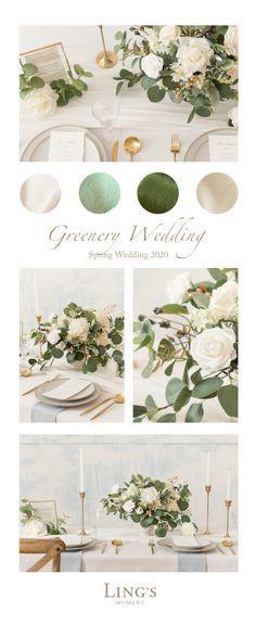 Neutral Wedding Colors, Wedding Color Schemes, Spring Wedding Colors, Wedding Colors Green, Wedding Color Combinations, Summer Wedding Colors, Green Wedding Decorations, Wedding Ideas Green, Wedding Colora