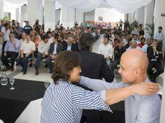 Lucia Corpacci concretó la entrega en concepto de aportes a pequeños productores, a través del Programa de Desarrollo Rural Incluyente (PRODERI)