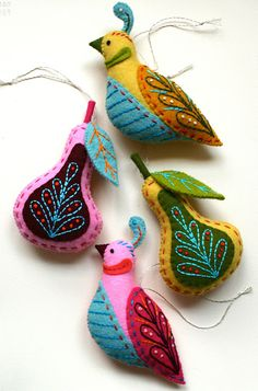 may I suggest handmade ornaments?
