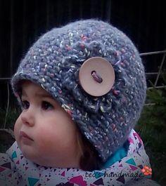 teo's handmade: Caciulita crosetata Nasturica Crochet Hats, Handmade, Fashion, Knitting Hats, Moda, Hand Made, Fashion Styles, Fashion Illustrations, Handarbeit