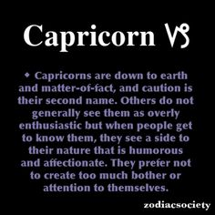 Capricorn Zodiac Facts