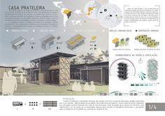 Galeria de Resultados do concurso estudantil de arquitetura bioclimática da IX…
