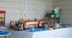 Hotdog buffet #frozenparty