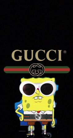 ownload Gucci spongebob Wallpaper by – 52 – Free on ZEDGE™ now…. Gucci Wallpaper Iphone, Cartoon Wallpaper Iphone, Trippy Wallpaper, Disney Phone Wallpaper, Mood Wallpaper, Iphone Background Wallpaper, Cute Cartoon Wallpapers, Pretty Wallpapers, Aesthetic Iphone Wallpaper