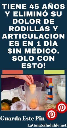 La receta que se recomienda aquí tiene propiedades curativas increíbles cuando se trata de dolor en las rodillas y las articulaciones. #Dolor #Remedios #Salud #Rodillas