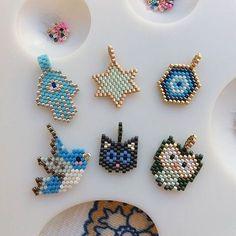 visual result related to miyuki necklace models - Beading Projects, Beading Tutorials, Peyote Patterns, Beading Patterns, Handmade Jewelry Box, Bead Loom Bracelets, Ankle Bracelets, Hanging Jewelry, Peyote Beading