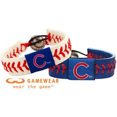 Chicago Cubs Team Bracelet Combo Mlb Rox 7 8 Across Feature The Logo And Colors Officially