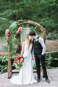 Bohemian wedding inspiration at Redwood Ridge Estate