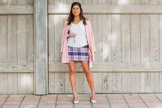 Spring pastels, spring fashion, J Crew, pink, purple