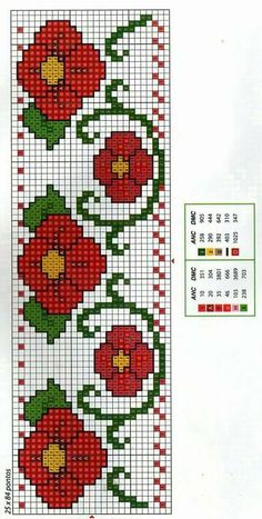 This post was discovered by sevgi liebe. Discover (and save!) your own Posts on Unirazi. 123 Cross Stitch, Cross Stitch Pattern Maker, Cross Stitch Bookmarks, Cross Stitch Borders, Cross Stitch Designs, Cross Stitching, Cross Stitch Embroidery, Cross Stitch Patterns, Hand Embroidery