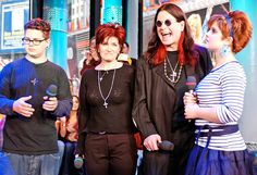 Look back at Ozzy, Sharon, Kelly and Jack through the years Ozzy And Sharon Osbourne, Ozzy Osbourne, Celebrity Stars, Celebrity News, War Pigs, Heavy Metal Bands, Family Album, Black Sabbath, Celebs