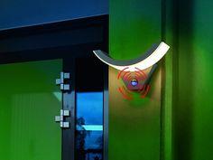 LED Wandleuchte Swingline  mit Bewegungsmelder Wandlampe Außenleuchte 201140