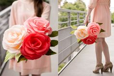 Бумажные розы на выпускной, 1 сентября, день учителя и 8 марта | Блог о праздниках