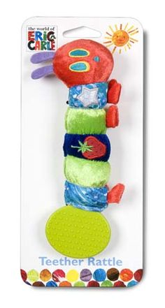 Stephen's new jingly teether  Kids Preferred The World of Eric Carle™ » Very Hungry Caterpillar Teether Rattle