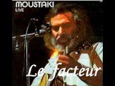 ♥ Le facteur - Georges Moustaki ♥ - YouTube