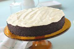 This recipe originally came from one of our favorite Food Network stars, Nigella Lawson. A little alteration here and there (like including Idahoan's Original Mashed Potatoes) to this wonderfully rich cake made with Coca-Cola and a new favorite was created!