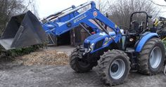 New-Holland TD 5.95 mit Frontlader