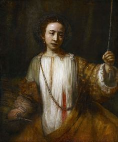 Lucretia by Rembrandt, 1666 (PD-art/old), Minneapolis Institute of Art; from the collection of Michał Hieronim Radziwiłł