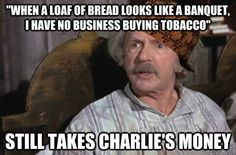 FOR REAL, THOUGH, why is Grandpa Joe the absolute WORST?!