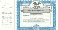 Corporate Publishing Custom Certificate -  Goes #532H Stock https://www.corporatepublishingcompany.com/product/goes-532h-certificates