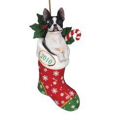 2010 Annual Boston Terrier Ornament