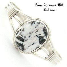 Four Corners USA Online Native American Artisan Jewelry - Sacred White Buffalo Turquoise Sterling Silver Cuff Bracelet Larson Lee Native American Jewelry NAC-1402, $200.00 (http://stores.fourcornersusaonline.com/sacred-white-buffalo-turquoise-sterling-silver-cuff-bracelet-larson-lee-native-american-jewelry-nac-1402/)