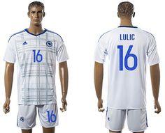 Bosnia Herzegovina  16 Lulic Away Soccer Country Jersey wholesale cheap  jerseys  16 Free Shipping Bosnia 42072c9da