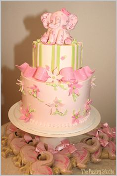 Baby Shower Cake by The Pastry Studio