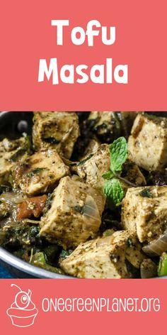 Tofu Masala [Vegan]