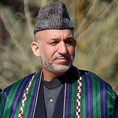 Afghanistan- President Hamid Karzai
