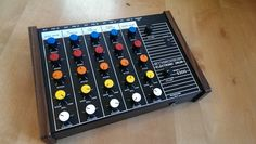MATRIXSYNTH: Vintage Synsonics 5300 Analog Drum Brain Module