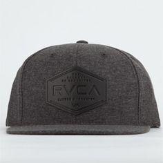 RVCA Sonny Mens Snapback Hat - CHARC - AV5007ST DHE b786f460dd60
