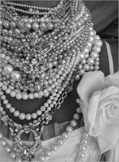CHANEL PEARLS AND CHAINS - Google Search