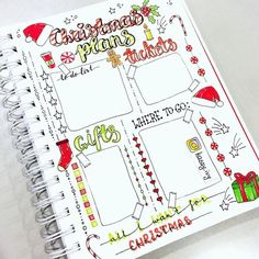 Inspirational and festive planners and bullet journals to keep you sane this holiday season. Christmas Planning Perfection | Zen of Planning | Planner Peace and Inspiration