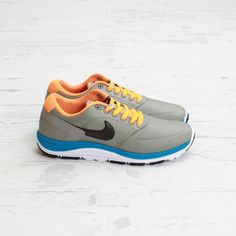 Nike SB Lunar Rod - Medium Grey / Bright Citrus