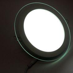 Downlight LED semiempotrados circular 16W. Ideal para sustitución de PL 2x18 Watios. Cuenta con un aro transparente alrededor que realza la figura con la luz interna del downlight. http://www.barcelonaled.com/downligth-led-para-empotrar/429-downlight-led-20-watios-smd-5630-200mm-no-basculante.html