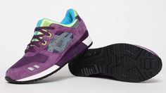 Asics Gel Lyte III Purple