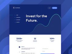 Coinbets Landing Page
