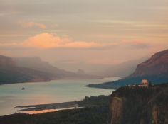 Whoever named the 7 Wonders of the World couldn't have possibly seen the grandeur of the Columbia River Gorge.  It wouldn't have been hard. A short drive from Portland they could have taken the historic Columbia River Highway up to Crown Point to see the mighty Columbia nestled in the Gorge unfurl before their very eyes.