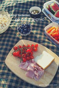 Gaslamp Summer: Go on a picnic. What's on your summer bucketlist? | Gaslamp Popcorn