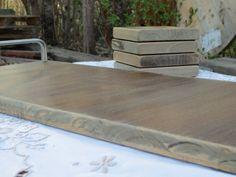 Serving Tray Wood Tray Wooden Tray Wood Serving by MyAlteredState