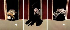 Francis Bacon. 'Triptych of George Dyer' 1973