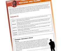 Host your own Halloween murder mystery party with printable resources!