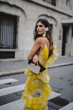 Leave it to Johanna Ortiz, who took the fashion world by storm with her statement, shoulder skimming shirting, to likely ignite yet another soon-to-be-imitated trend: robe dressing. I can speak for myself when I say all I want wear, come spring, are floral, kimono-like dresses, worn over pants and