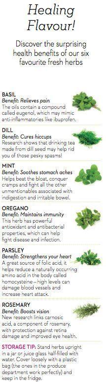 Surprising health benefits of fresh herbs